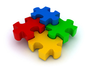 Puzzle-Pieces-Primary-Colors
